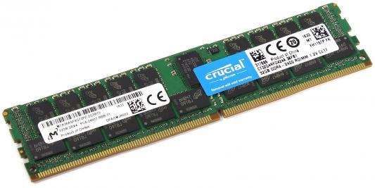Оперативная память 32Gb PC4-19200 2400MHz DDR4 ECC DIMM Crucial CT32G4RFD424A