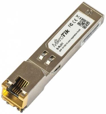 Трансивер Mikrotik S-RJ01 модуль mikrotik s rj01
