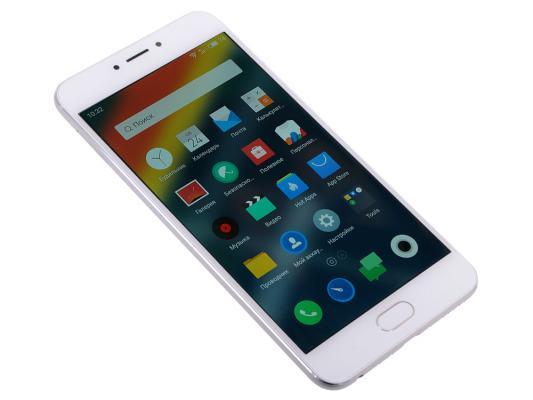 "Смартфон Meizu MX6 серебристый 5.5"" 32 Гб LTE Wi-Fi GPS 3G M685H-32-S"