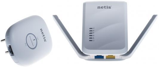 Адаптер Powerline Netis PL7622 KIT повторитель беспроводного сигнала netis e1 белый
