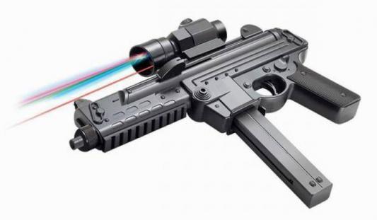 Купить Автомат Shantou Gepai черный ES1003-SM1306A, 335 мм, для мальчика, Игрушечное оружие