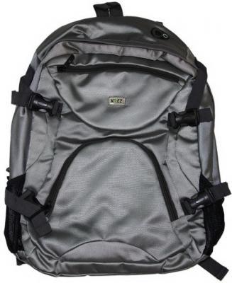 """Рюкзак для ноутбука 16"""" KREZ L16-501G полиэстер серый"""