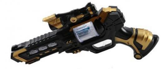 Пистолет Shantou Gepai JQ698-1 черный золотистый 6927712726230