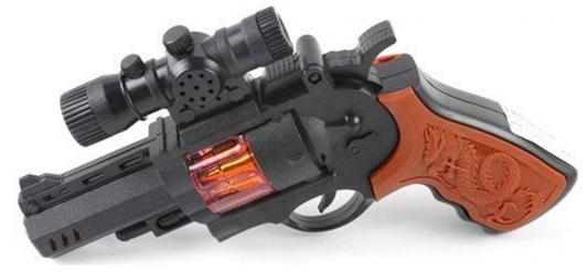 Пистолет Shantou Gepai эл., свет, звук 738-9