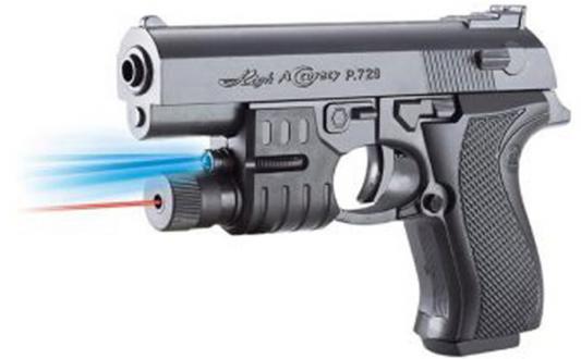 Пистолет Shantou Gepai Механический с фонарем серый ES1003-729APB