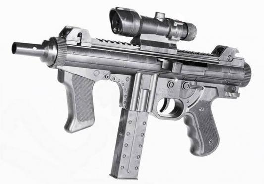 Пистолет Shantou Gepai ES605-1238B черный