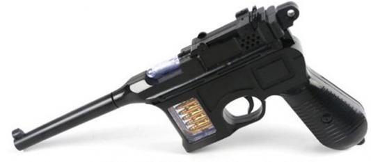 """Пистолет Shantou Gepai """"Маузер"""" черный свет, звук 6889-60"""