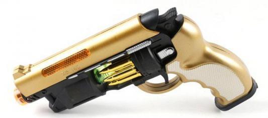 Пистолет Shantou Gepai ZS.140-1 золотистый оружие shantou gepai overlord золотистый 36b 1
