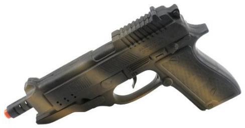 Пистолет Shantou Gepai с трещоткой черный 8808-1