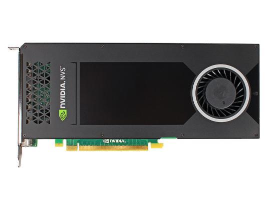 Видеокарта PNY Quadro NVS 810 VCNVS810DPBLK-1 PCI-E 4096Mb 128 Bit Bulk pny quadro nvs 285