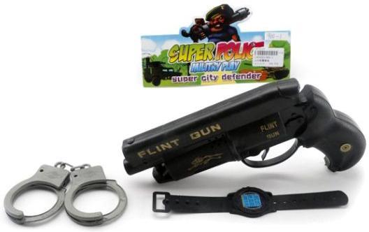 Набор оружия Shantou Gepai Полицейский черный 900-1