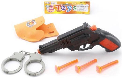 Набор оружия Shantou Gepai Полицейский черный оранжевый A049-37