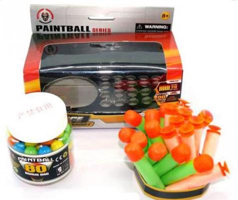 Набор патронов Shantou Gepai 3319 игра shantou gepai набор парикмахера bj1299