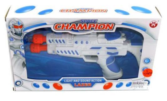 Пистолет Shantou Gepai звук, свет YH3114-18 белый 6927712345196