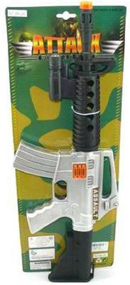 Винтовка штурмовая Shantou Gepai M4-2B черный серебристый 6927711715983