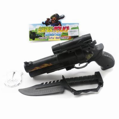"""Набор оружия Shantou Gepai """"Полицейский"""" 900-6 черный"""