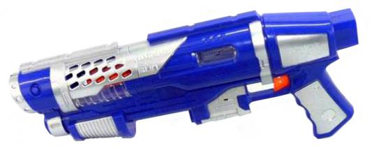 Бластер Shantou Gepai KT8658-B6 синий серебристый 6927710168247