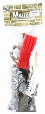 Набор Shantou Gepai 0055-J24 серебристый красный 6927712879158