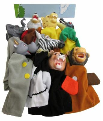 Кукольный театр Shantou Gepai Животные Африки 8 предметов 68384(П)