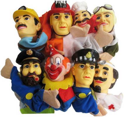Купить Кукольный театр Shantou Gepai Профессии 8 предметов 68390(П)