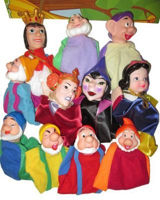 Купить со скидкой Кукольный театр Shantou Gepai Белоснежка 11 предметов 68389(П)