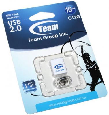 Флешка USB 16Gb Team C12G Drive белый TC12G16GW01 765441008311