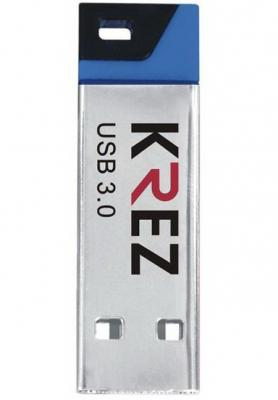 Флешка USB 16Gb Krez mini 602 черно-синий KREZ602U3BL16