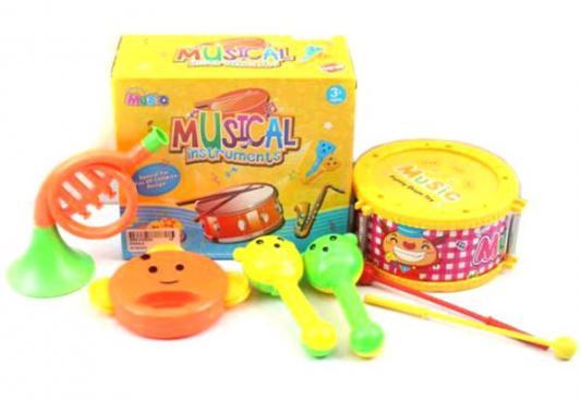 Купить Набор музыкальных инструментов Shantou Gepai 6566Q-4, разноцветный, Детские музыкальные инструменты