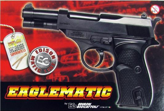 Пистолет Edison Giocattoli 0218/86 черный 8002605002139