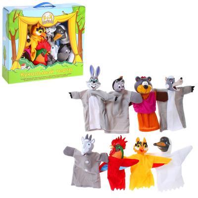 Игровой набор Жирафики Кукольный театр - Потешки 8 предметов 68348