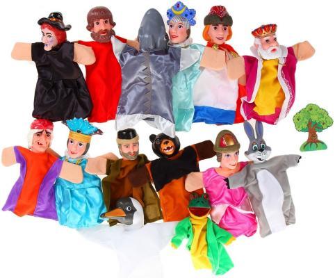 Игровой набор Жирафики Кукольный Театр - Царевна Лягушка 14 предметов 68327 кукольный театр жирафики царевна лягушка 14 кукол 68327