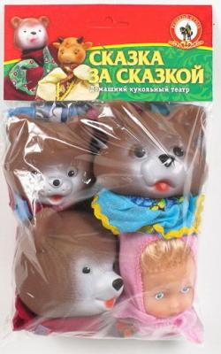 Игровой набор Русский Стиль Три медведя 4 предмета
