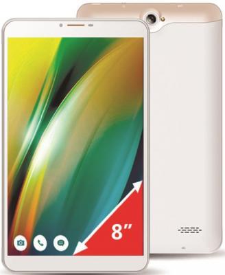 """Планшет GINZZU GT-8010 8"""" 16Gb белый LTE Wi-Fi 3G Bluetooth 4G Android"""