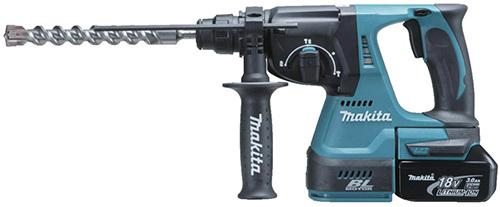 Фото Перфоратор Makita DHR242RFE SDS-Plus