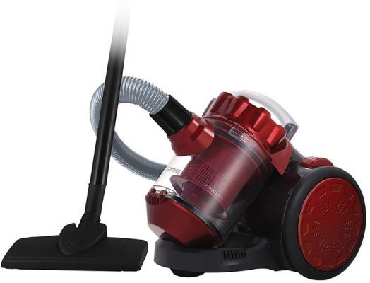 Пылесос — LU-3209 сухая уборка красный чёрный