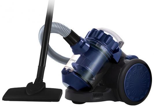 Пылесос Lumme LU-3209 сухая уборка чёрный синий