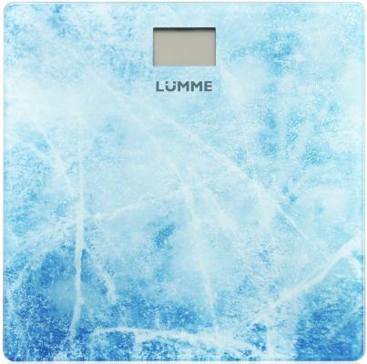 Весы напольные Lumme LU-1328 рисунок Морозное утро