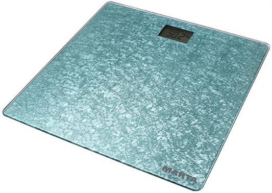 Весы напольные Marta MT-1679 голубой аквамарин