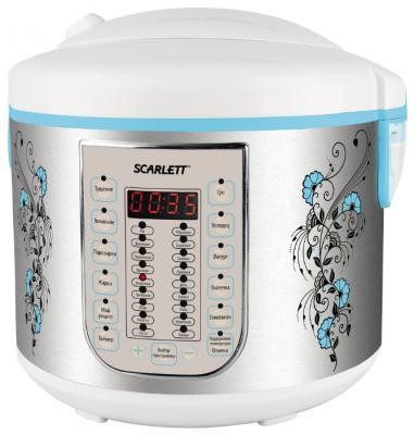 Мультиварка Scarlett SC-MC410S15 серебристый белый 900 Вт 5 л