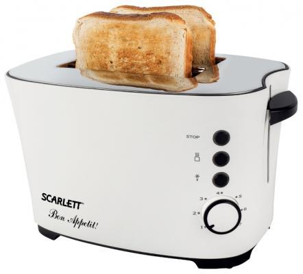 Тостер Scarlett SC-TM11005 белый тостер scarlett sc tm11003 белый рисунок page 3