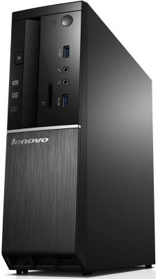 Системный блок Lenovo IdeaCentre 510S-08ISH SFF i3-6100 3.7GHz 4Gb 500Gb Intel HD DVD-RW Win10Pro клавиатура мышь черный 90FN003VRK
