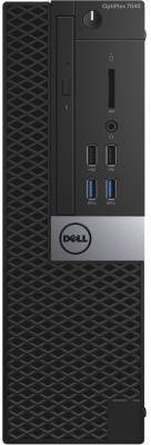 Системный блок Dell Optiplex 7040 SFF i5-6700 8Gb 500Gb HD530 DVD-RW Win7Pro Win10Pro клавиатура мышь серо-черный 7040-0095