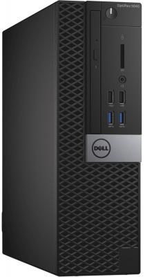 Системный блок Dell Optiplex 5040 SFF i5-6500 3.2GHz 4Gb 500Gb HD530 DVD-RW Win7Pro Win10Pro клавиатура мышь серо-черный 5040-0002