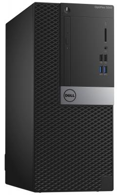 Системный блок Dell Optiplex 3040 MT i5-6500 3.2GHz 4Gb 500Gb HD4600 DVD-RW Ubuntu клавиатура мышь серебристо-черный 3040-9884