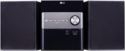 Микросистема LG CM1560 10Вт черный цены