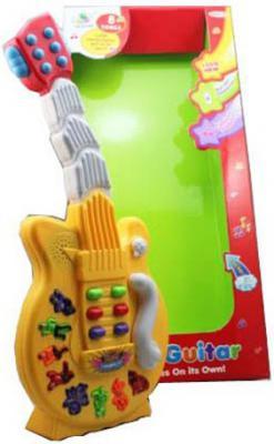 Гитара Shantou Gepai 8 танцевальных мелодий, 6 звуковых эффектов