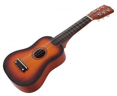 Гитара Shantou Gepai 8019A 4 струны игрушка shantou gepai гитара 941731 7237