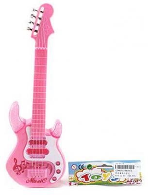 Гитара Shantou Gepai роз. 4 струны, 27,5 см, пакет HR187A игрушка shantou gepai гитара 941731 7237