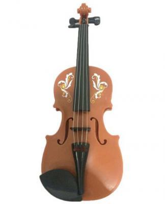 Купить Музыкальный инструмент Shantou Gepai Скрипка 46141, коричневый, Детские музыкальные инструменты