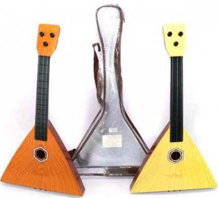Балалайка Shantou Gepai  3 струны, 41 см, чехол , B-78